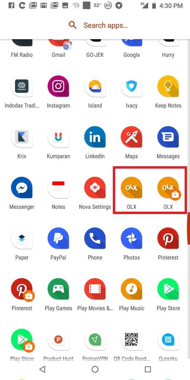 Cara Install Dua Aplikasi Sama di Android (Dual App/App Cloning